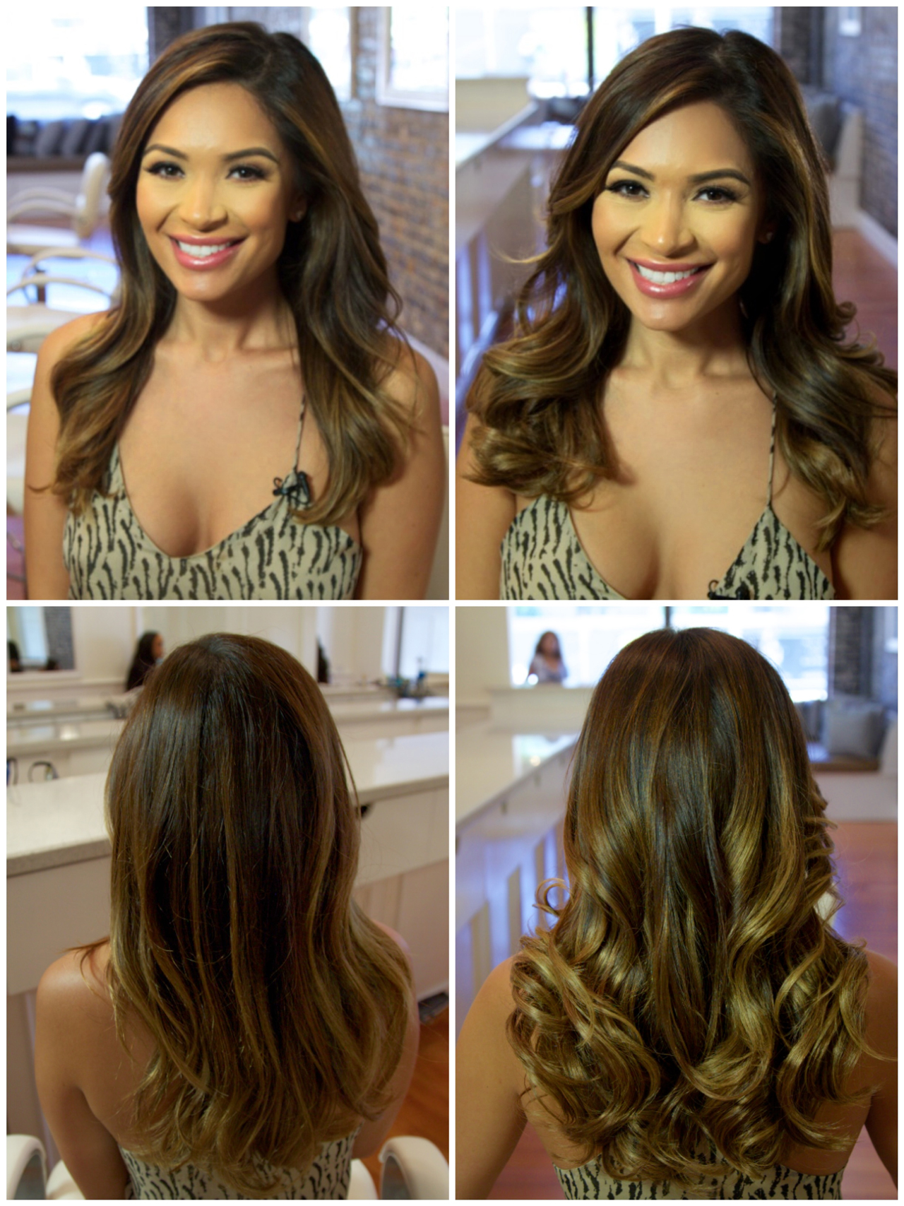 Marianna Hewitt Hair Extensions Before And After Just Extensions Los