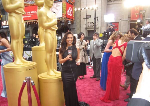marianna hewitt 2014 academy awards oscars tv host red
