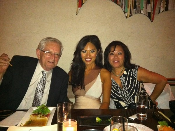 marianna hewitt after pageant dinner mom and dad