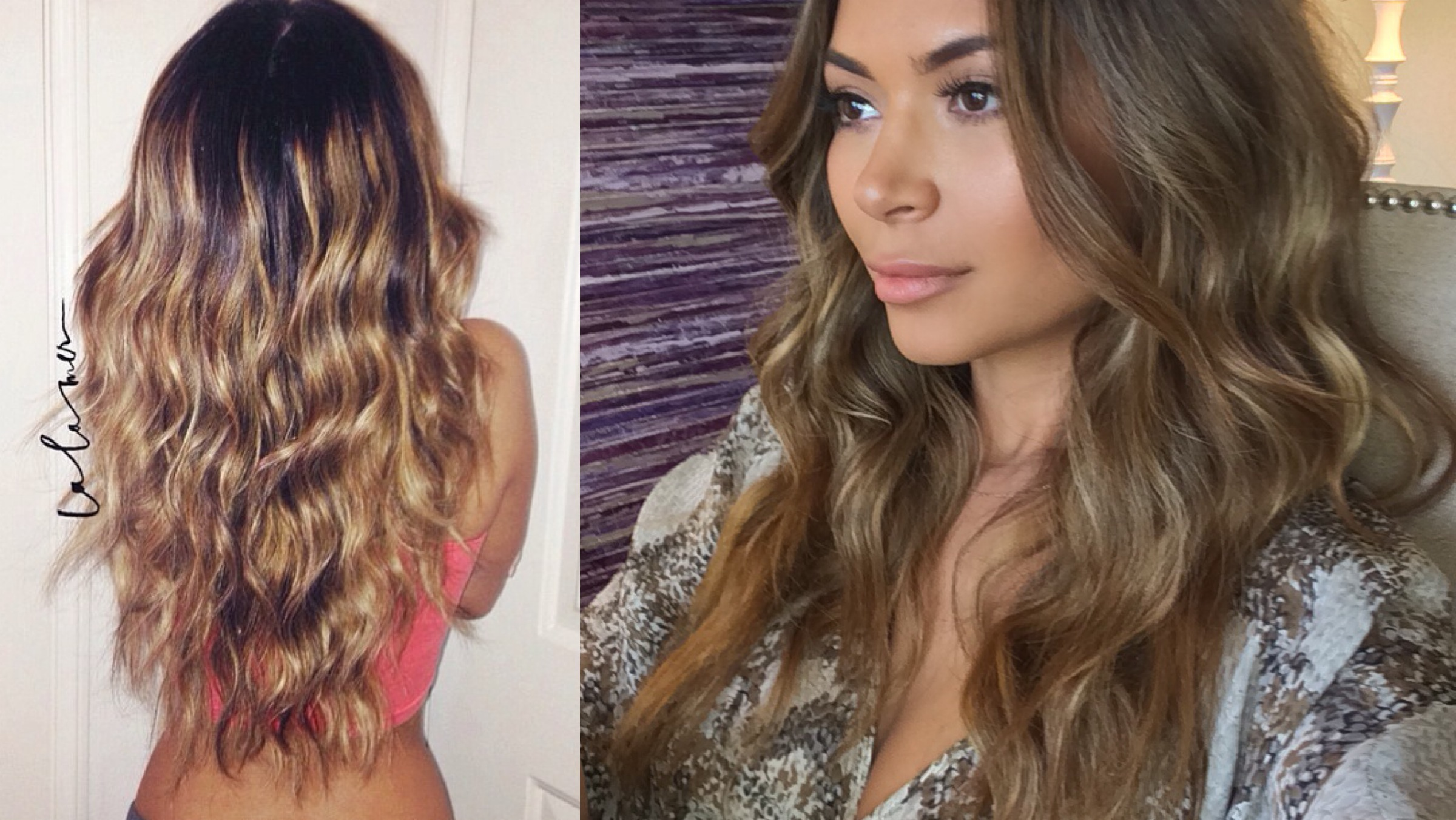 Easy messy beach waves hair tutorial marianna hewitt blog messy beach waves is one of my favorite styles to wear my hair it is easy quick and lasts for days i am using the nume lustrum 5 in 1 wand for this and urmus Images