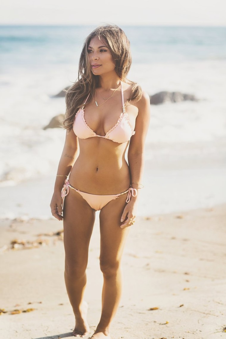 Marianna Hewitt In House Of Cb Swim Lookbook Ss14
