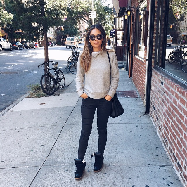 713cfb3066c marianna hewitt blog nyfw street style saint laurent isabel marant topshop  raen sunglasses