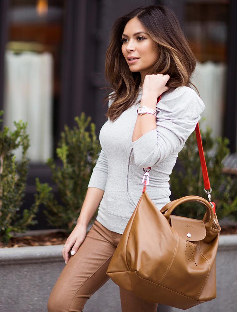 6cf8f54020b Marianna Hewitt Designs Custom Longchamp Le Pliage Bag