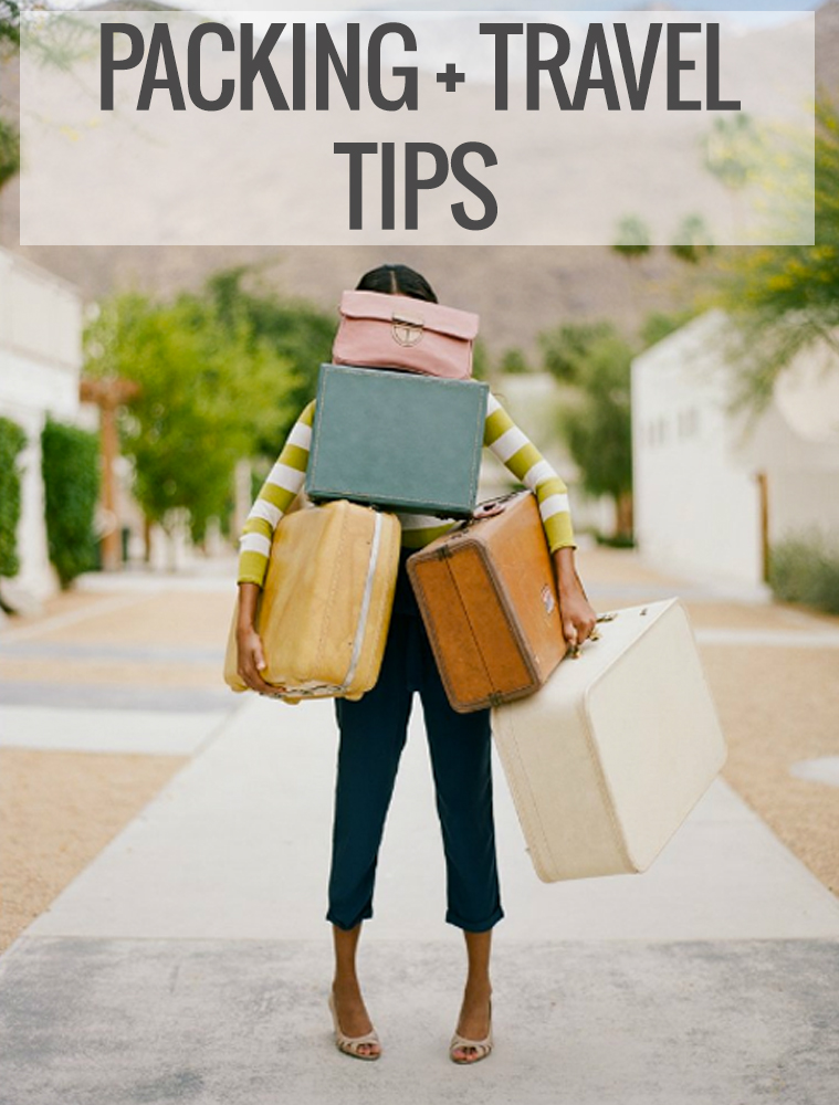 Holiday Travel & Packing Tips